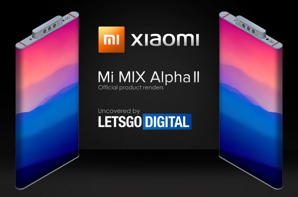Xiaomi Mi Mix Alpha 2 pop-up camera & urround display