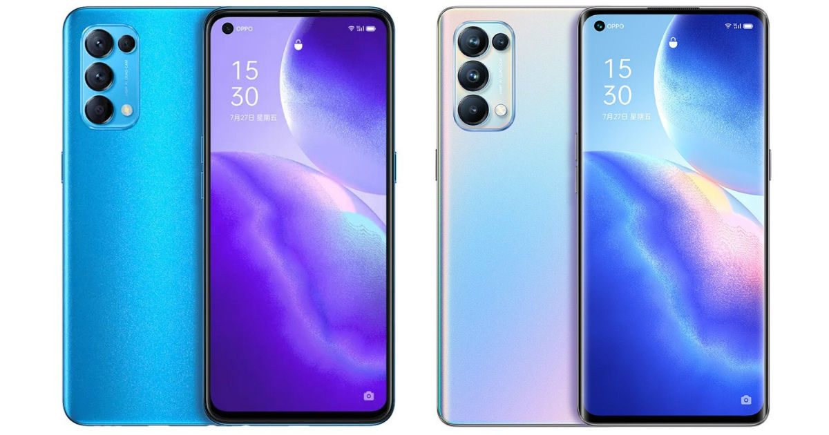 OPPO Reno5, Reno5 Pro 5G surprise render and specifications appeared on some eCommerce sites