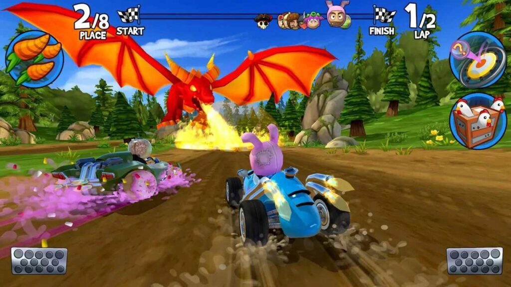 Best Free Android games - Beach Buggy Racing 2