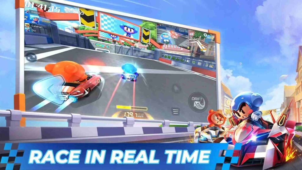 Best Free Android games - KartRider Rush+